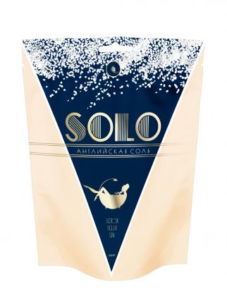 Английская соль для ванны EPSOM Solo. 2,5 кг, для похудения и против отечности, Флип