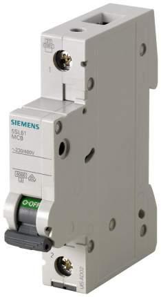 Автоматический выключатель Siemens 230/400V 6KA, 1-ПОЛ., C, 10A