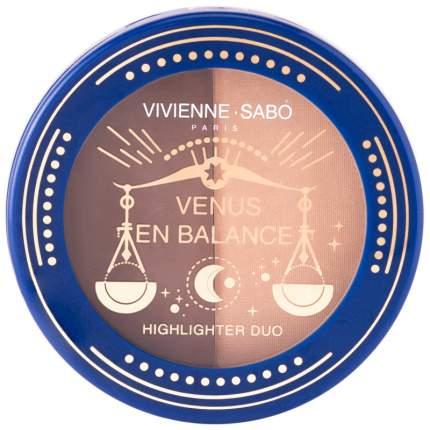 """Палетка для скульптурирования лица Vivienne Sabo """"Venus en Balance"""", тон 01"""