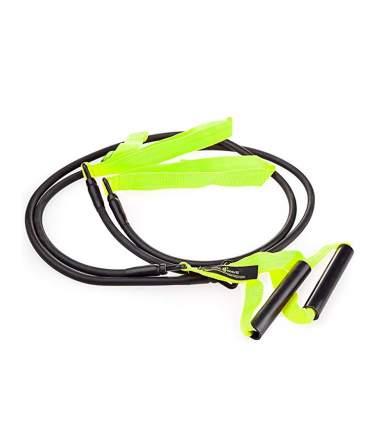 Тренажер для тренировки гребка MadWave Dry Training с ручками (Зеленый)