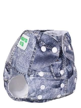 Подгузник детский многоразовый Mum's Era Джинс синий со вкладышем