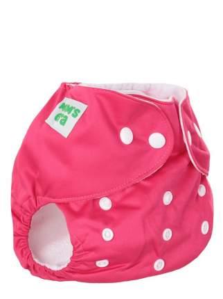 Подгузник детский многоразовый Mum's Era малина со вкладышем