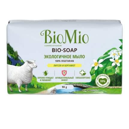 Мыло экологичное BIO MIO Литсея и Бергамот 90 г