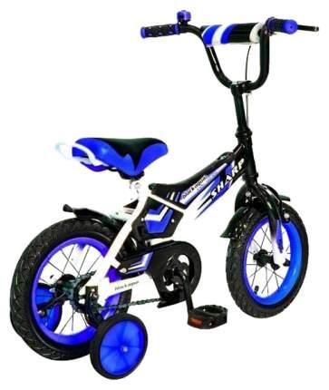 """Велосипед детский двухколесный Black Aqua Sharp 12"""" синий"""