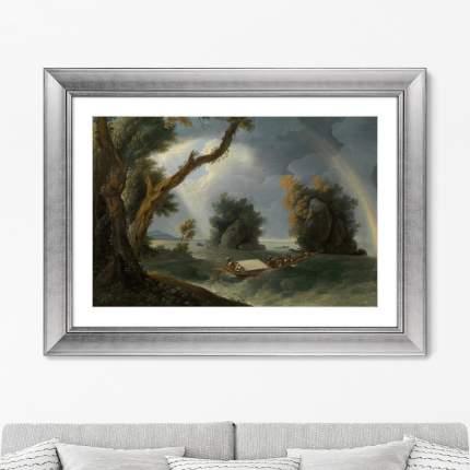 Репродукция Storm near the Col-gon Rocks, 1790г.