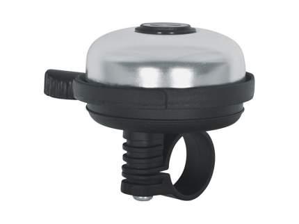 Велосипедный звонок Kellys Bell 20. диаметр: 53мм. цвет: серебристый. без упаковки