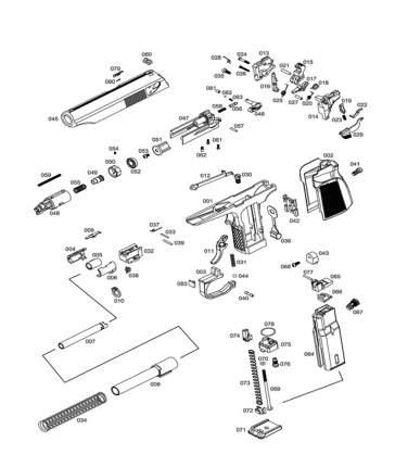 Основание магазина к пистолету WE ПМ с глушителем GGBB (GP118-75)