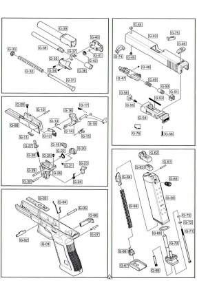 Камера газовая WE Glock 17 Gen.4 GGBB (GP616B-G-47)