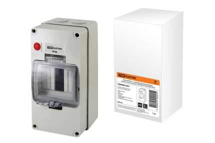 Бокс TDM ELECTRIC КМПнИ-4, с индикатором, герметичными вводами, IP66 SQ0908-0201