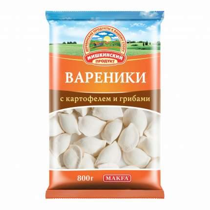Вареники Мишкинский продукт Знатные с картофелем и грибами 800 г