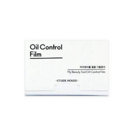 Салфетки для лица  Etude House матирующие My Beauty Tool Oil Control Film
