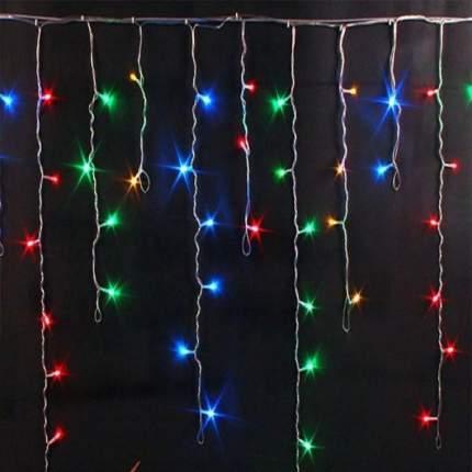 Гирлянда БАХРОМА,  100  LED, 2.5*0.7 (Цвет: Разноцветный  )