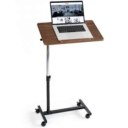 Стол для ноутбука Tatkraft Gain на колесах, 60x34х96 см