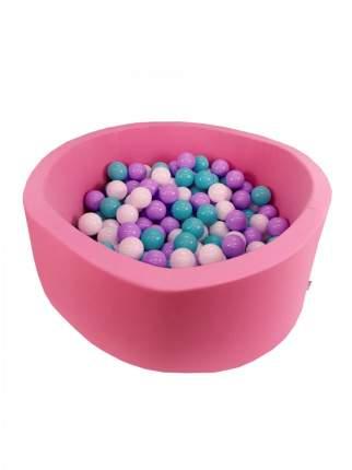Сухой игровой бассейн Розовый лепесток розовый высота 33 см с 200 шарами в комплекте