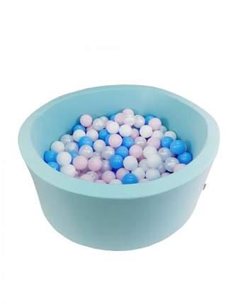 Сухой игровой бассейн Мятный лоск высота 33 см с 200 шарами в комплекте