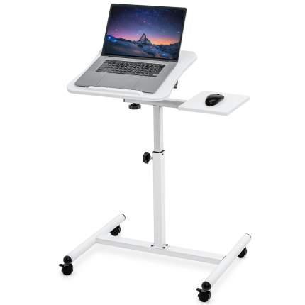 Стол для ноутбука Tatkraft Bianca с подставкой для мыши, регулируемый, 69,5x51х110см