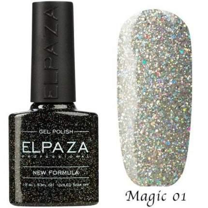 Гель-лак ELPAZA Magic Glitter №1 Космическая пыль, 10 мл