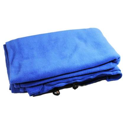 вкладыш в спальный мешок кокон Терра флис-К, синий