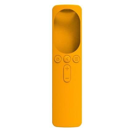 Силиконовый чехол для пульта Xiaomi Bluetooth Touch Voice Remote Control 4A / 4C Orange