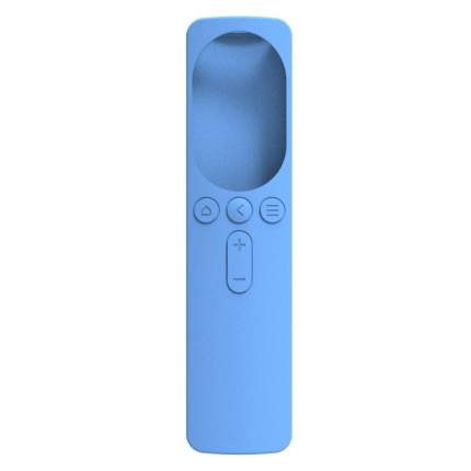 Силиконовый чехол для пульта Xiaomi Bluetooth Touch Voice Remote Control 4A / 4C Blue