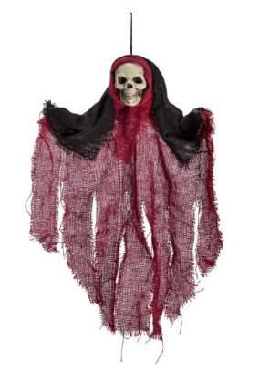 Украшение АРТЭ Скелет в балахоне, красный