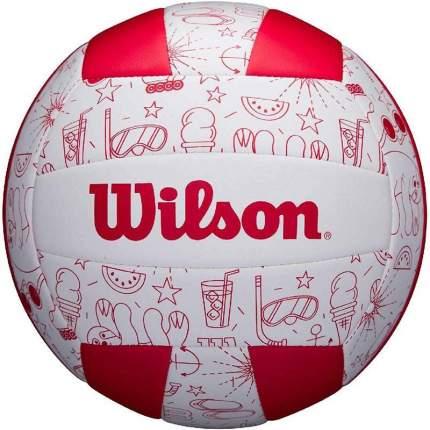 Волейбольный мяч Wilson Seasonal №5 white/red