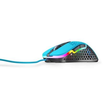 Игровая мышь Xtrfy M4 c RGB, Miami Blue