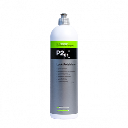 Восковая политура LACK-POLISH BLAU P2.01 (1 л)