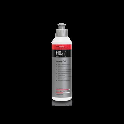 Абразивная полировальная паста для твёрдых лаков HEAVY CUT H9.01(250 мл)