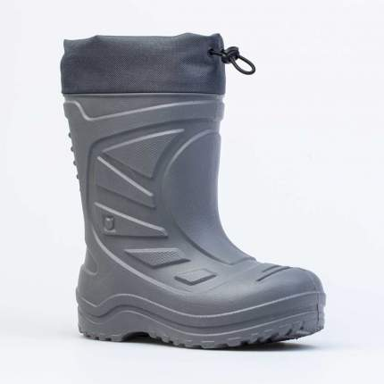 Резиновая обувь для мальчиков Котофей цв.серый р.34