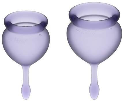 Набор менструальных чаш Feel good Menstrual Cup (фиолетовые)