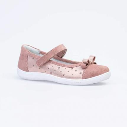Туфли для девочек Котофей цв.розовый, золотистый р.32