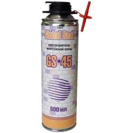 Очиститель монтажной пены GLOBAL SEAL GS-45, 500 мл