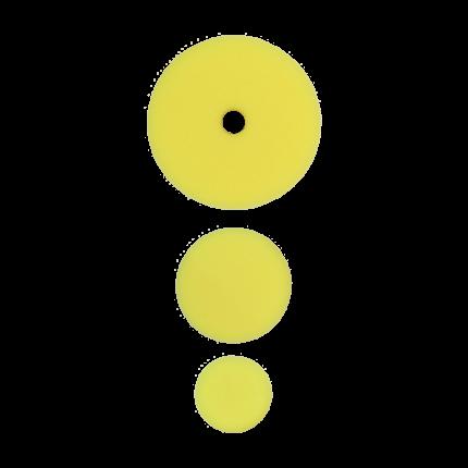 Полировальный круг комплект - полутвердый 75мм/54мм/34мм- желтый AuTech Au-33509E