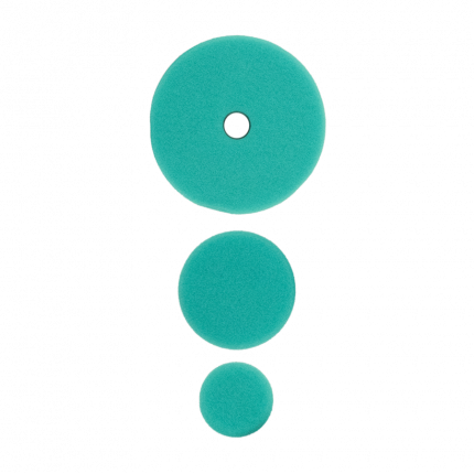 Полировальный круг комплект - твердый 75мм/54мм/34мм- зеленый AuTech Au-33508G