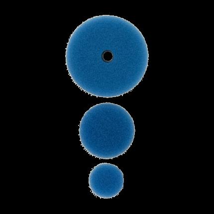 Полировальный круг комплект - твердый резак 75мм/54мм/34мм- синий AuTech Au-33507B