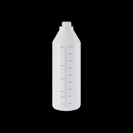 Бутылка мерная пластиковая, устойчивая к химиям, 1л. Epoca 7133.F001