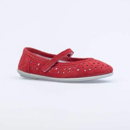 Туфли для девочек Котофей цв.красный р.27
