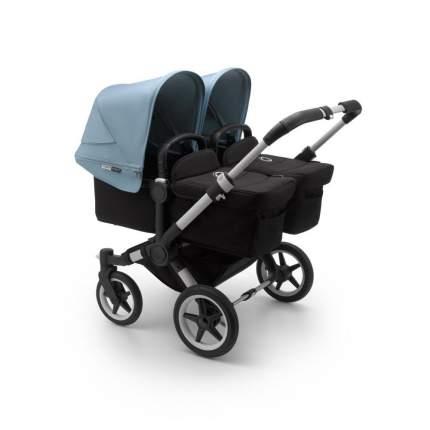 Bugaboo donkey3 коляска 2 в 1 для двойни twin alu/black/vapor blue