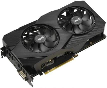 Видеокарта ASUS Nvidia GeForce RTX 2060 DUAL EVO (DUAL-RTX2060-6G-EVO)