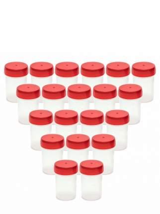 Комплект Баночка для анализов 60 мл стерильная 20 шт.