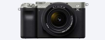 Фотоаппарат системный Sony Alpha 7C SEL28-60 Silver