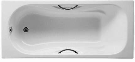 Чугунная ванна Roca Malibu 160x70 2334G0000 с отверстиями для ручек