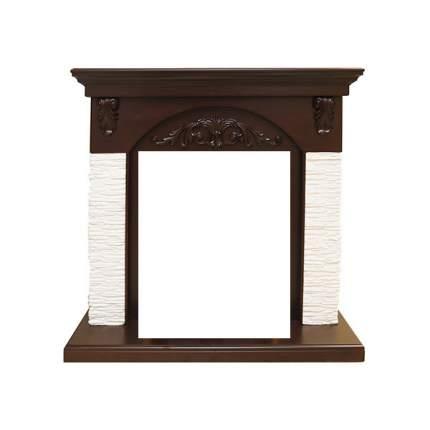 Классический портал для камина Royal Flame Bern мелкий сланец белый под классический очаг