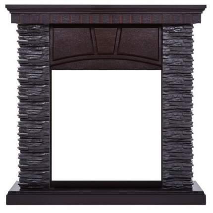 Классический портал для камина Electrolux Porto Classic сланец Черный/шпон Венге