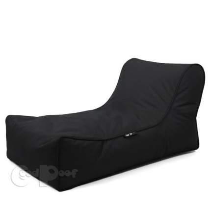 Кресло-мешок GoodPoof Шезлонг Лаунж Strong Black, размер XL, нейлон, черный