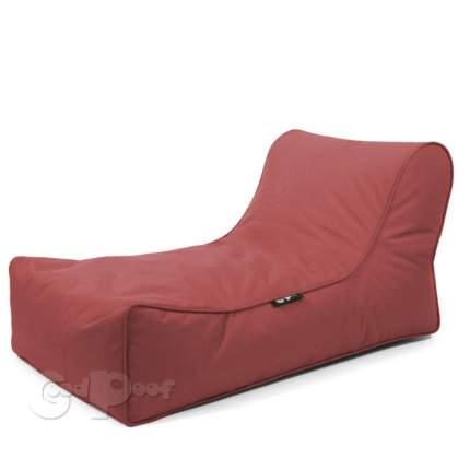 Бескаркасный модульный диван GoodPoof Лаунж one size, нейлон, Red Garnet (красный)