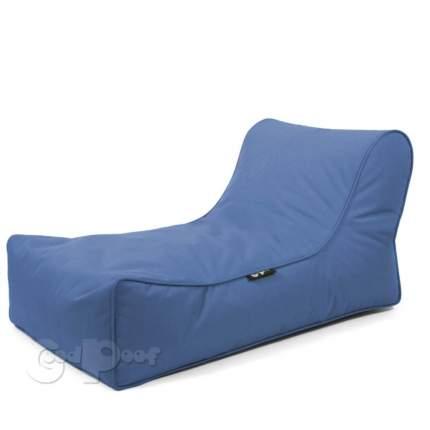 Кресло-мешок GoodPoof Шезлонг Лаунж Blue Water, размер XL, нейлон, синий