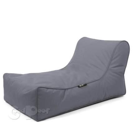 Кресло-мешок GoodPoof Шезлонг Лаунж Grey Metal, размер XL, нейлон, серый