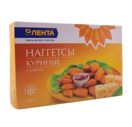 Наггетсы куриные Лента с сыром замороженные 280 г
